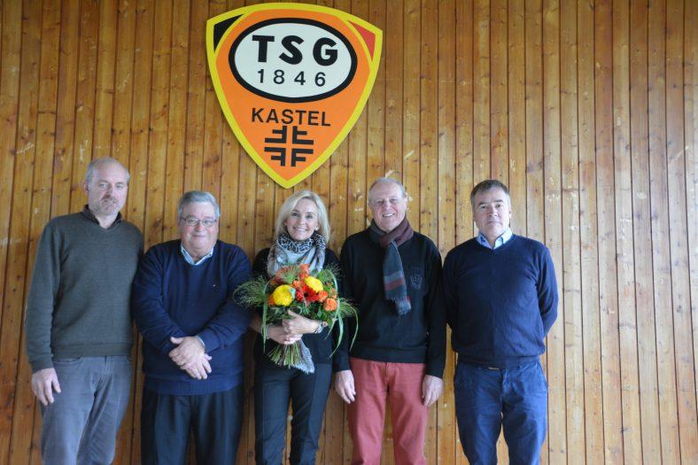 TSG Vorstand bei der JHV 2018