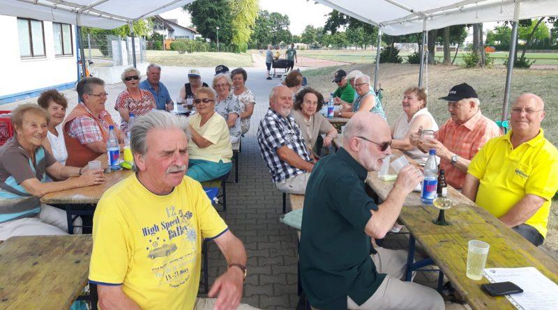 Zünftiges Grillfest der TSG 46 – Senioren-Sportgruppe