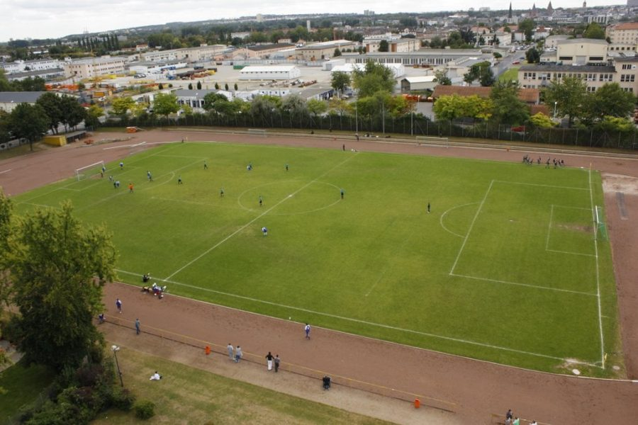 WK: Bezirkssportanlage in Kastel erhält neuen Belag
